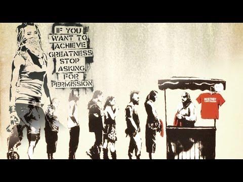 'Destroy Capitalism' Banksy Prints Sold At Wal-Mart?