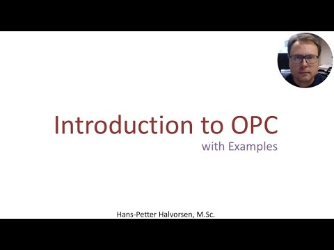 Introduction to OPC with Examples