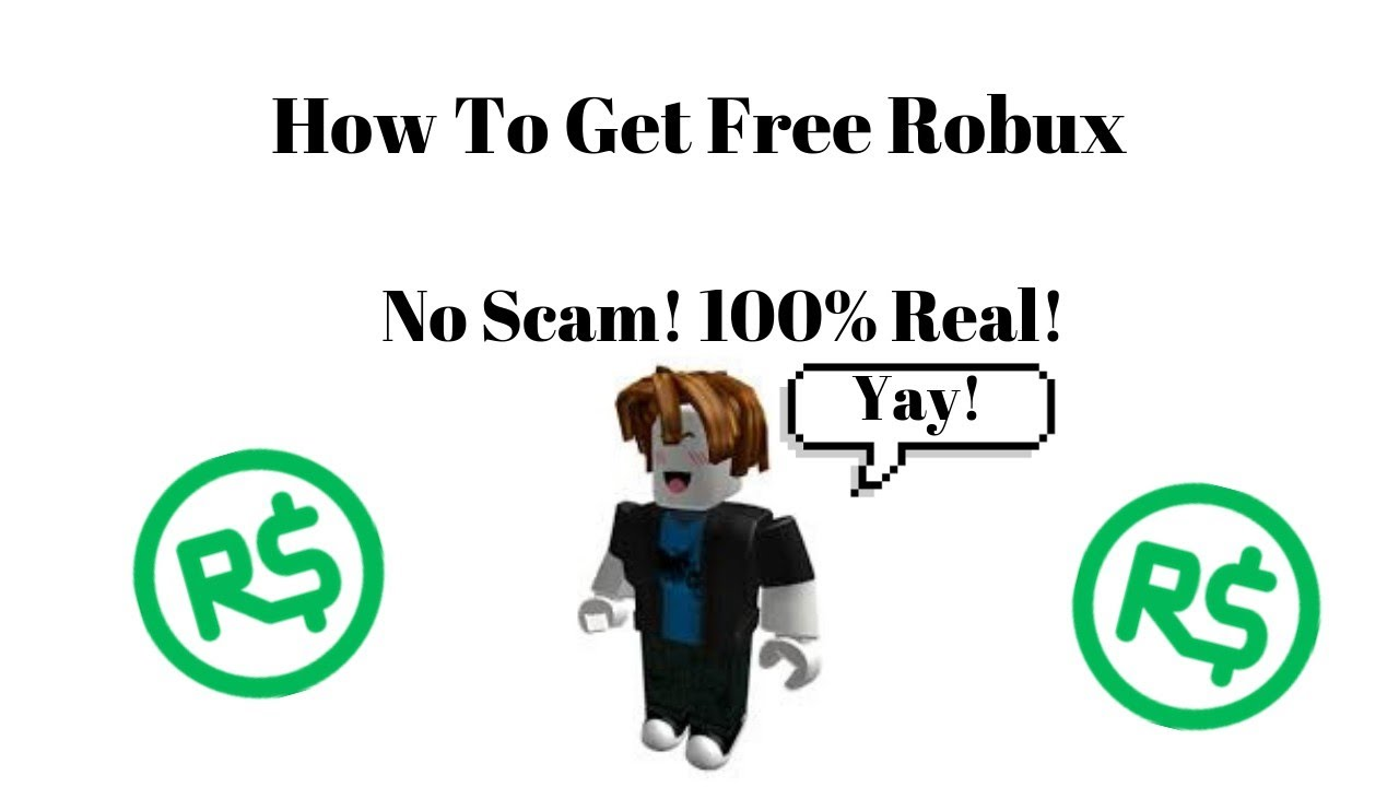 Free Robux No Scam Youtube