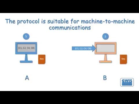 A 0ne-pass Key Distribution Protocol Based on the Hamming Code