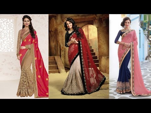 Traditional Colorful Half Saree Designs  Part 19