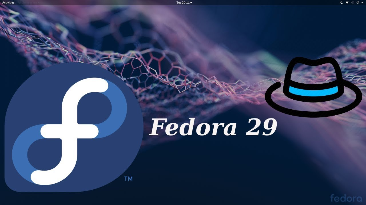 Fedora 29 Gnome Install and Some Things to do After Install