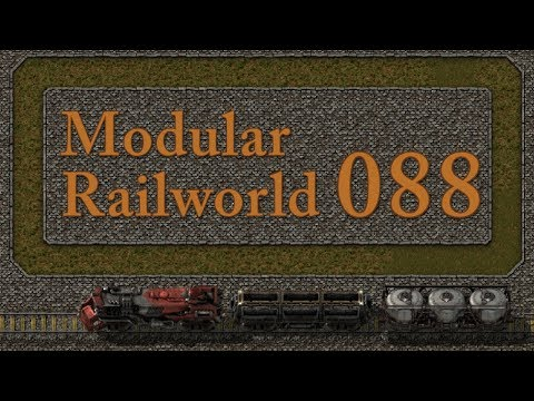 Factorio Modular Railworld #88 - Dense Copper and More Oil