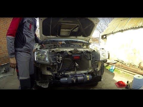 Установка лебедки ComeUp Seal 9.5S в шататный бампер Toyota HILUX на площадку РИФ: Часть 1