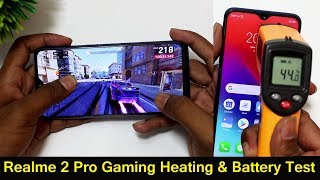 Realme 2 Pro Gaming Review | Heating Test  & Battery Drain Test || in telugu