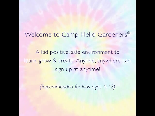 Send Your Kids to Camp In Your Living Room