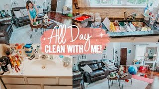 ALL DAY CLEAN WITH ME 2019 | ULTIMATE CLEANING MOTIVATION | SPEED CLEAN | Cally Ratzlaff