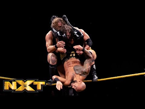 Ricochet vs. Pete Dunne vs. Adam Cole - NXT North American Title Match: WWE NXT, Oct. 10, 2018