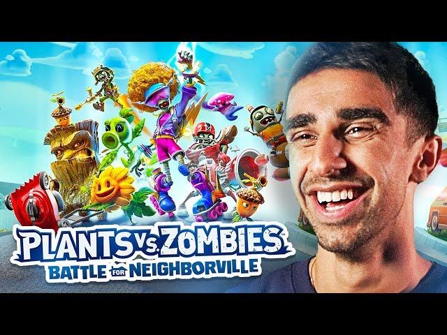 PvZ: Battle for Neighborville LIVE Gameplay (Plants vs Zombies #PvZBfN)