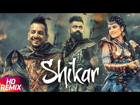 Shikaar (Remix) | Jazzy B | Amrit Maan | Kaur B | Punjabi Remix Song Collection | Speed Records