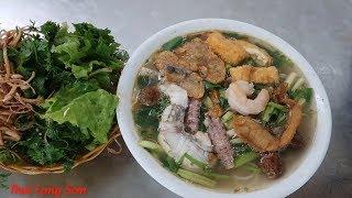 LẦN ĐẦU ĂN BÚN HẢI SẢN ở lạng sơn I Thai Lạng Sơn