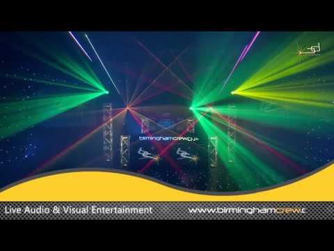 Laser Lighting - Birmingham Crew DJs & Events