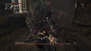 Bloodborne Bestia Horrenda Caliz Raiz de Loran