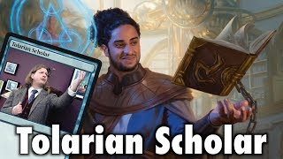 The Tolarian Scholar of Dominaria - Exclusive Magic: The Gathering Preview / Spoiler Card!