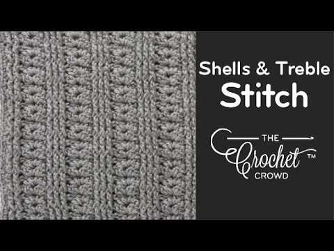 Crochet Stitches Raised Treble Front : How To Crochet the Raised Treble Diagonal Rib Stitch FunnyCat.TV