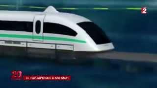 le train le plus rapide du monde 580km/h