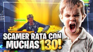 SCAMEO THE MOST RATA WITH 100 WEAPONS 130! - Fortnite Save the World