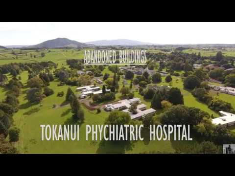 ABANDONED BUILDINGS!! TOKANUI PSYCHIATRIC HOSPITAL (4K DRONE FOOTAGE)