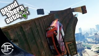 GTA V Online - TRIPLE WALLRIDE IMPOSIBLE!! - DRAGON FIRE VS STINGER #7 - Funny Moments GTA 5