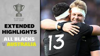 EXTENDED HIGHLIGHTS: All Blacks v Australia (Auckland)