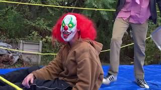 BWE Halloween Horror 2019 CASKET MATCH Backyard Wrestling