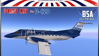 ::MCB Corp:: BSA - Blue Sky Airlines - D120 - New Livery 2016