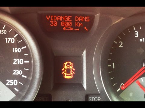 renault megane 2 service reset remise z ro vidange huile moteur 2002 2009 youtube. Black Bedroom Furniture Sets. Home Design Ideas