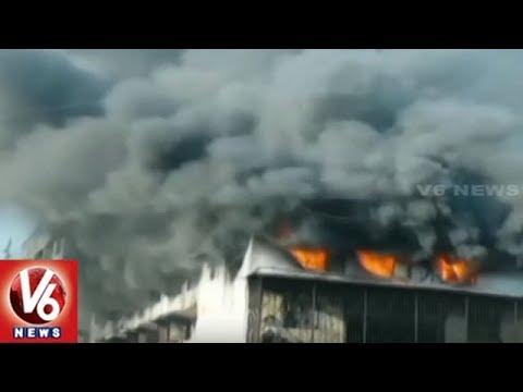 Massive Fire Breaks