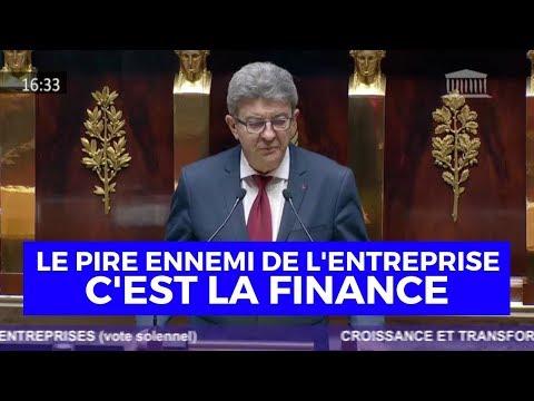 LE PIRE ENNEMI DE L'ENTREPRISE, C'EST LA FINANCE