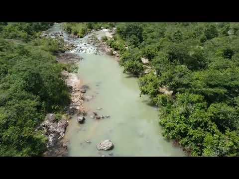 Río el Sapo, Morazán, El Salvador CA