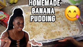Cook With Me!   Homemade Banana Pudding