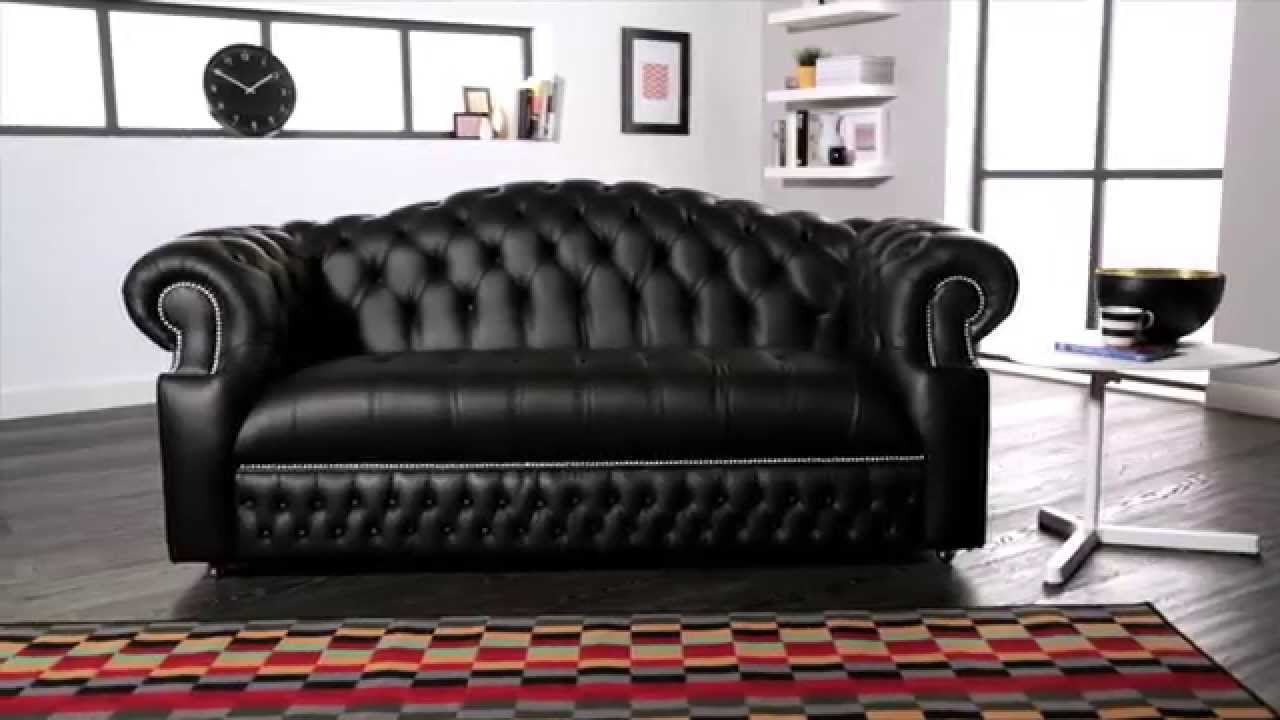 sandringham chesterfield sofa from sofas by saxon youtube. Black Bedroom Furniture Sets. Home Design Ideas
