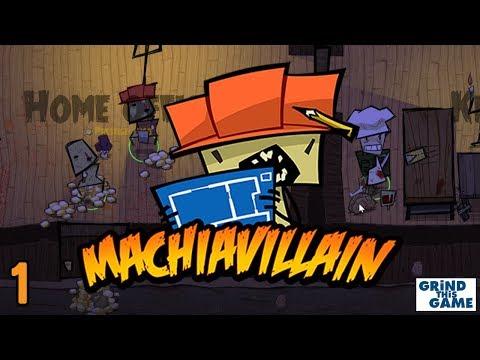 MachiaVillain Gameplay #1 - Haunted Mansion Setup & Useful Hotkeys