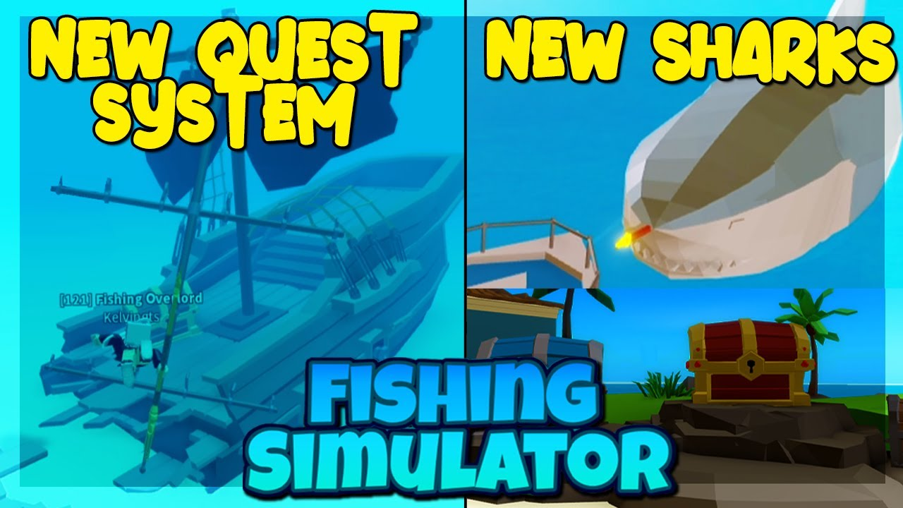 New Quest Update Hunting Sunken Ship And Huge New Shark Fishing