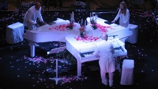 USA Las Vegas The Venetian Klavier Konzert Palazzo Carnevale Triple Piano Act