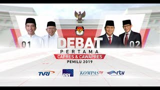 Download Video [FULL] Debat Pertama Capres & Cawapres Pemilu 2019 MP3 3GP MP4