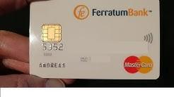 Ferratum Mastercard Karte   die Mastercard zum Ferratum Girokonto