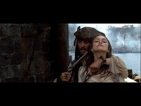 День, когда чуть не был пленён Капитан Джек Воробей. HD
