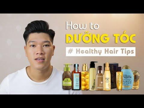 Dầu dưỡng tóc & những công dụng tuyệt vời