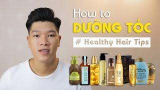 Cách dùng & những công dụng tuyệt vời của dầu dưỡng tóc