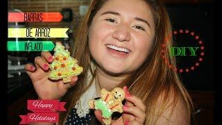 ¡REGALA Y DECORA BARRAS DE ARROZ INFLADO EN NAVIDAD! -DIY (recetas-snacks-postres navideños) FÁCIL Thumbnail