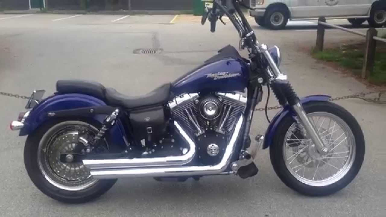 street bob vance and hines big shot staggered exhaust