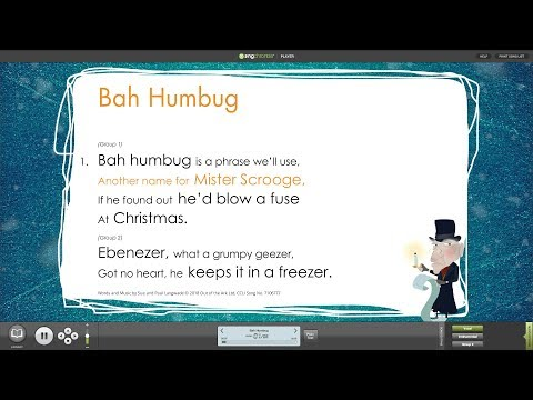 Bah Humbug! Words on Screen™ Compilation