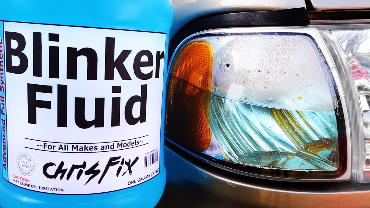 hight resolution of how to replace blinker fluid
