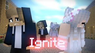 "♪ "" Ignite "" - ( Cute Love Story Minecraft Animation Music Video #2 ) ♪"