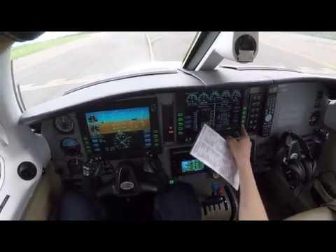 Piper PA-46 Matrix Salida PVR-SAT