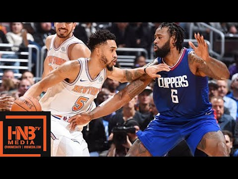 New York Knicks vs LA Clippers Full Game Highlights / March 2 / 2017-18 NBA Season