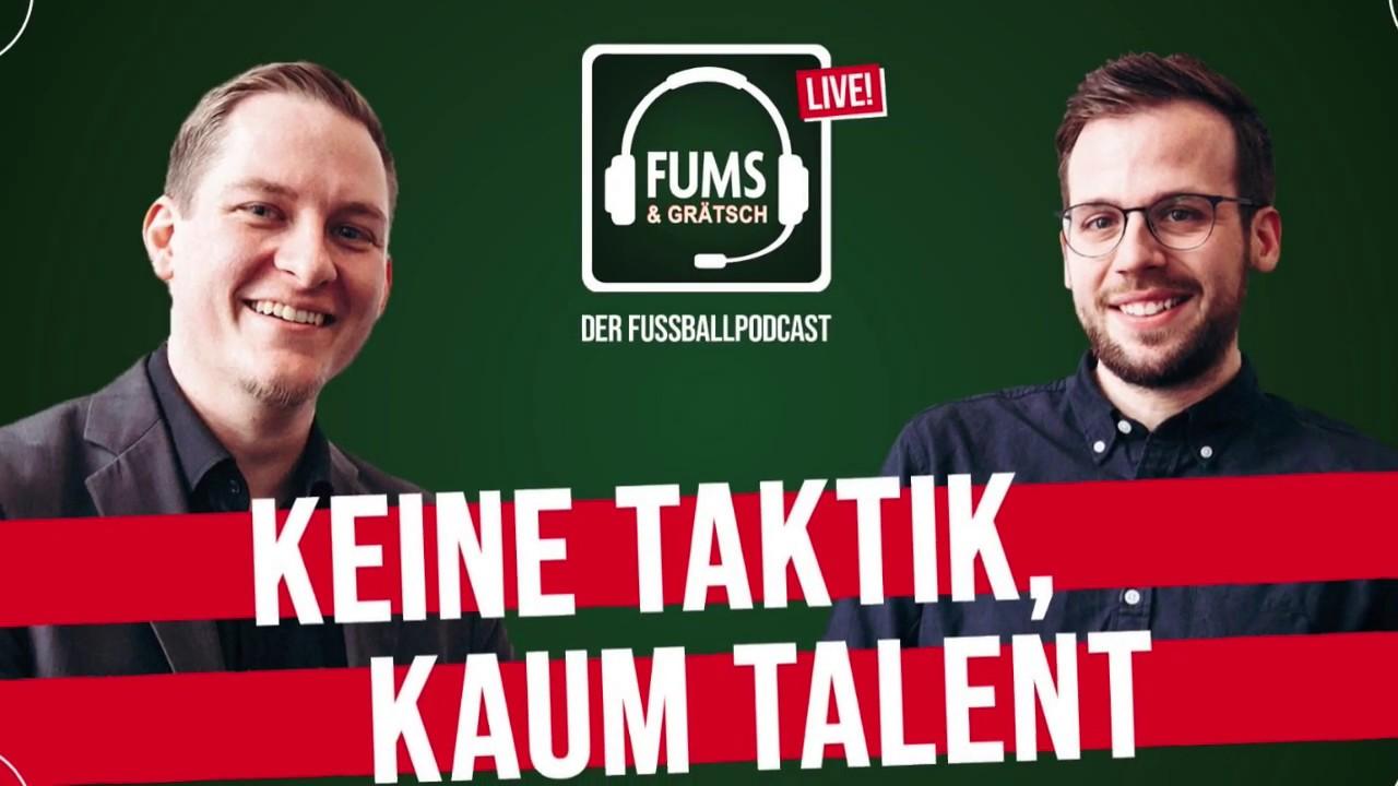 KEINE TAKTIK, KAUM TALENT – FUMS & GRÄTSCH der Fussballpodcast LIVE – Tourtrailer 2020