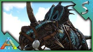 NEW STYRACOSAURUS, STYGIMOLOCH & BRACHIOSAURUS! ARCHAEOLOGY SKINS! - Ark: Survival Evolved [S4E136]
