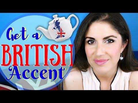 SPEAK with a British Accent | British VS American Pronunciation
